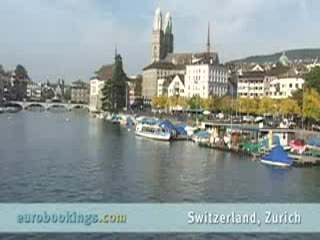 Zürich, Sveits: Video highlights from Zurich Switzerland provided by EuroBookings.com