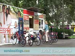 Video highlights Zurich Transportation Switzerland by EuroBookings.com