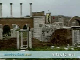 Selcuk, Tyrkia: Video highlights from Ephesus Turkey provided by EuroBookings.com