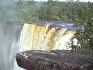 Potaro-Siparuni, Guyana: Kaiture Falls The Movie