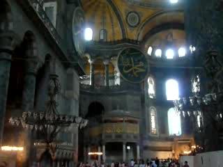Istanbul, Turkey: Video of Aya Sofia Interior