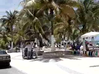 Isla Mujeres by golf cart