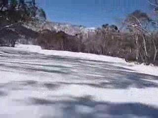 Cooma, ออสเตรเลีย: Video skiing down Long Arm Run