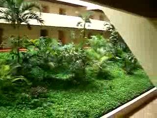 Hyatt Ziva Cancun : The Inside of the Pyramid Building