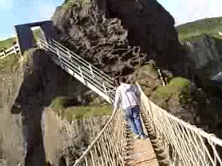 Ballintoy, UK: Carrick-a-Rede Rope Bridge