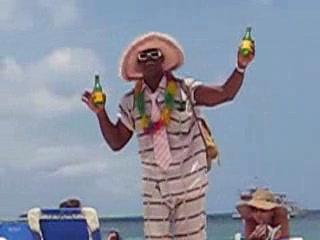 Hotel Riu Palace Aruba: Aloe Man