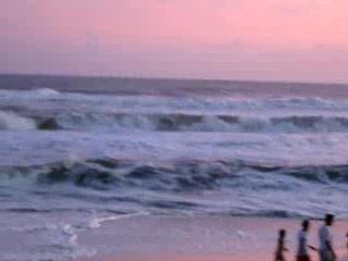Panama City Beach, Flórida: Hurricane Ike Causing Crazy Waves