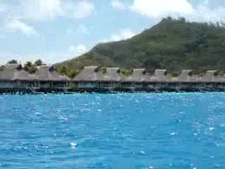 Hilton Bora Bora Nui Resort & Spa : Bora Bora Nui boat ride