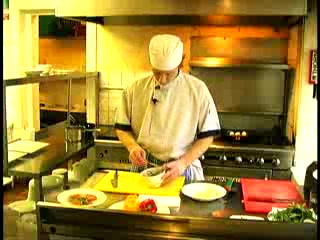 Cafe Sol Bistro: Cafe Sol Head Chef in action!