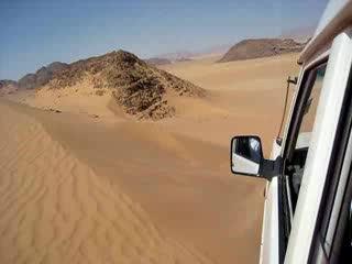 Drive in Wadi Rum