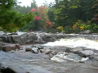 North Conway, NH : Lower Falls on the Kanc
