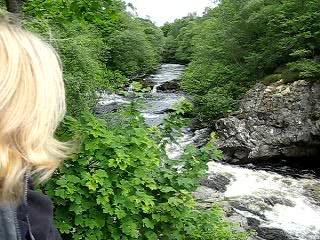 Lairg, UK: The Falls of Shin, Sunderland  Scotland