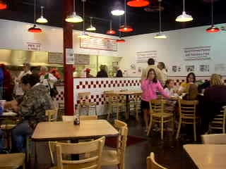 Five Guys Burger & Fries: What's on the table at Five Guys in Lynchburg?