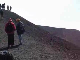 The 2002 vent on Etna