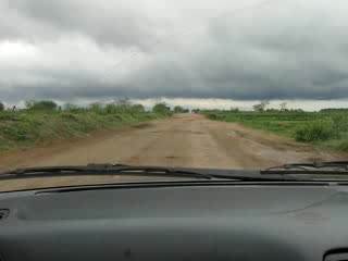 Burundi : Not a great patch of road