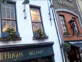 Irlandia Północna, UK: Pubs of Belfast: Pubs of North Ireland-Pubs Travel Video PostCard
