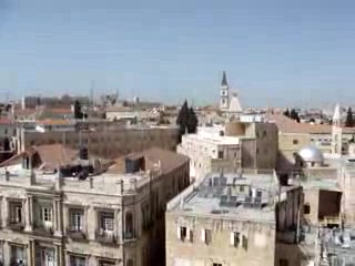 Gerusalemme, Israele: Overlooking Old City than Newer Part of City