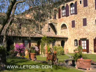 Travel video spot Villa Le Torri vacation rental Tuscany near Florence