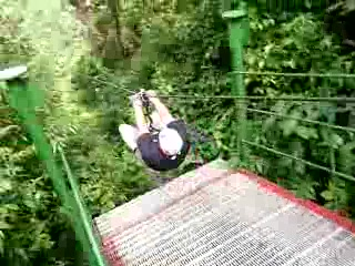 Национальный парк Arenal Volcano National Park, Коста-Рика: Zipline