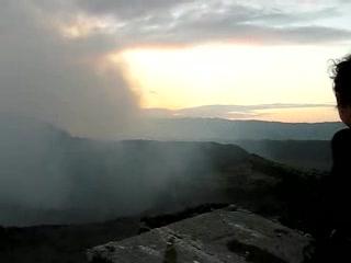 Masaya Volcano National Park: crater panorama