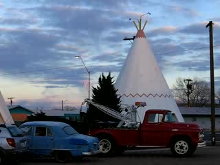 Wigwam hotel, route 66, Holbrouck