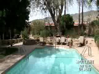 California Desert, Californië: Desert Hot Springs Mineral Water Resorts