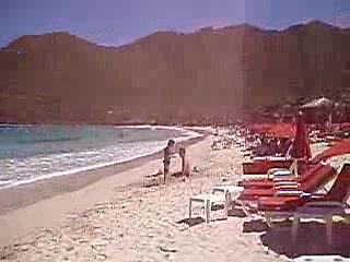 Le Domaine Beach Resort & Spa: La mer des Caraïbes