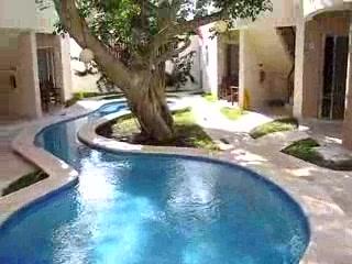 Hotel Posada 06 Tulum: Pool area