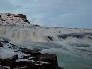 Reykjavik, Islandia: vid gulfoss 2
