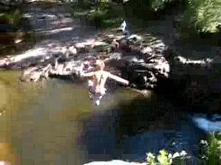 Cliff Jumping at Lester Park