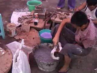 Bronze Foundry - Mandalay - Myanmar