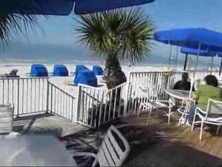Beach Video -Doubletree Beach Resort -  North Redington Fla
