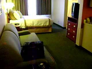 Hawthorn Suites by Wyndham Sacramento: My Room at the Sacramento Hawthorn Suites