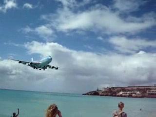 Maho, Сен-Мартен – Синт-Мартен: St Maarten Boeing Landing