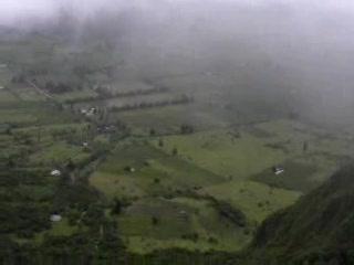 Quito, Equador: Volcano crater