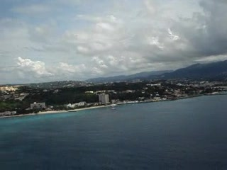 Landing in Montego Bay