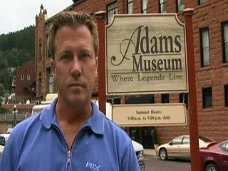 Tour of Adams Museum in Deadwood, South Dakota