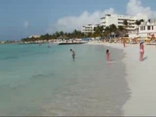 Isla Mujeres Playa Norte beginning