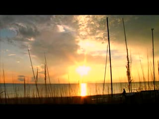 Napels, FL: Beautiful Time-lapse Sunset at Naples, FL
