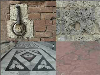 a past carved in the Siena stones