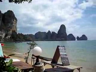 Krabi Town, Thaïlande : Tonsai Bay - Near Railay Beach, Krabi, Thailand
