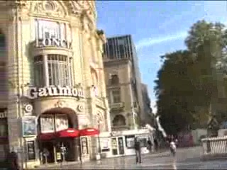 place de la comedie video of montpellier herault. Black Bedroom Furniture Sets. Home Design Ideas
