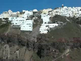 Hiking from Fira to Oia