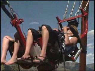 Swing Shot at Glenwood Caverns Adventure Park