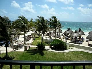 Hotel Marina El Cid Spa & Beach Resort : panormic from Building 17.El Cid,Mayan Riviera
