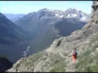 Glacier National Park, มอนแทนา: Highline Trail