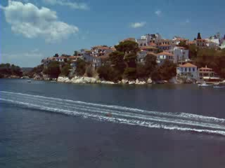 Skiathos town and harbour