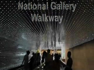 National Gallery of Art : Walkway between Gallery buildings