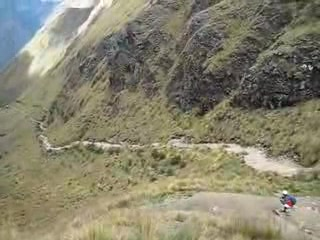 Cusco, Peru: View of Dead Woman's Pass
