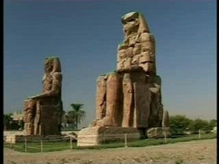 Luksor, Egipt: Colossi Of Memnon & Luxor Temple